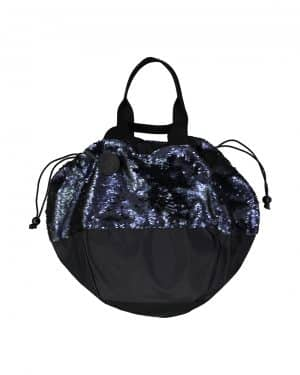 Blue Sequins Hand bag