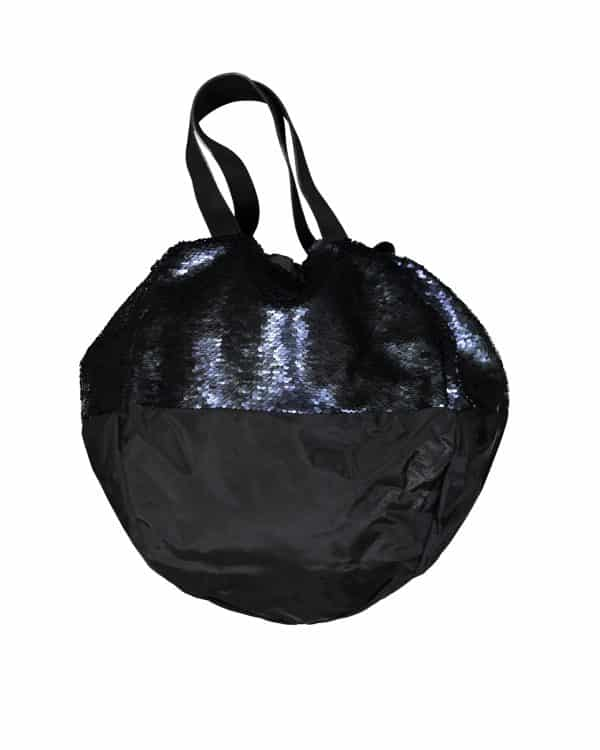 Sac LOVE AFFAIR en sequins réversibles marine