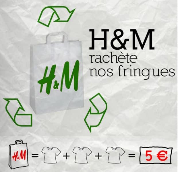 h&m écoresponsable